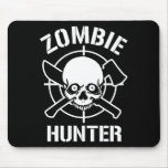 Zombie Hunter Mouse Pads