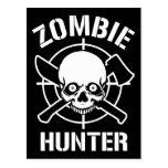 Zombie Hunter Post Card