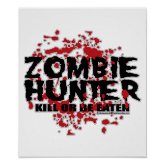 Zombie Hunter Poster