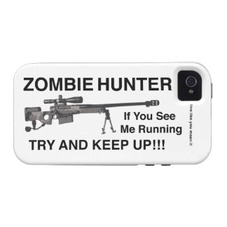 ZOMBIE HUNTER SNIPER DIVISION VIBE iPhone 4 COVERS