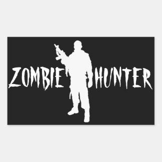ZOMBIE HUNTER -Sticker Rectangular Sticker