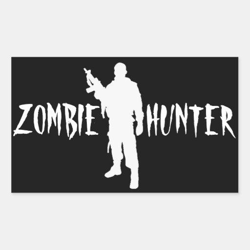 ZOMBIE HUNTER -Sticker
