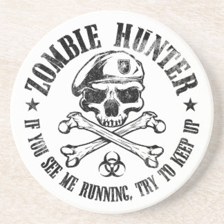 zombie hunter undead living dead coasters
