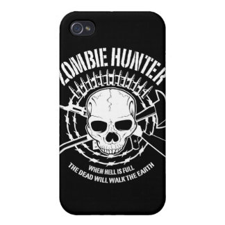 zombie hunter undead living dead iPhone 4 cases