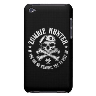 zombie hunter undead living dead iPod touch case