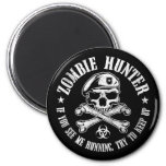 zombie hunter undead living dead refrigerator magnets