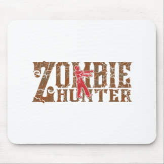 Zombie Hunter Walking Dead Gifts Mouse Pad