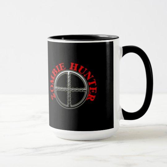 Zombie Hunter with Crosshairs Mug