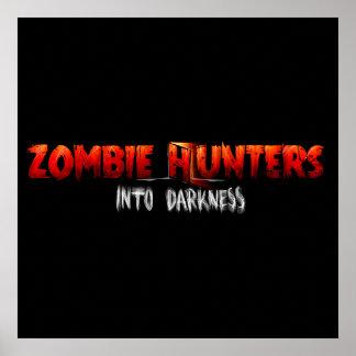 Zombie Hunters Matte Poster