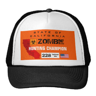 Zombie Hunting Champion hat