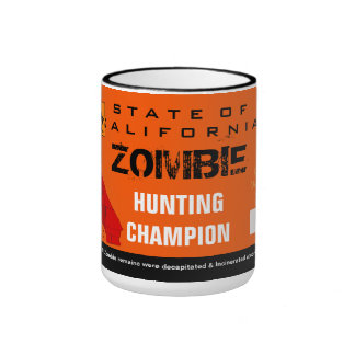 Zombie Hunting Champion Mug