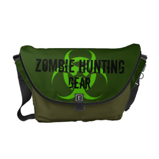 Zombie Hunting Gear Messenger Bag