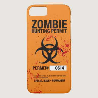 Zombie Hunting iPhone 7 case