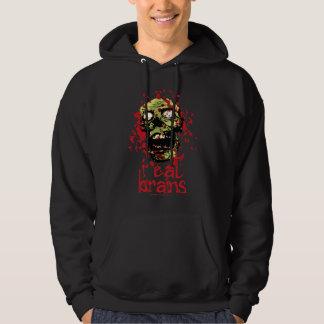 Zombie I Eat Brains 2 Hoodie