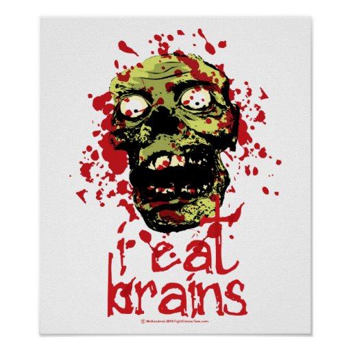 Zombie I Eat Brains 2 Poster