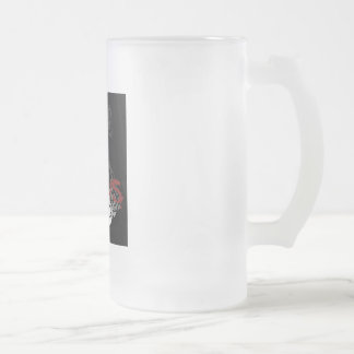 Zombie: I Like Brains Frosted Glass Beer Mug