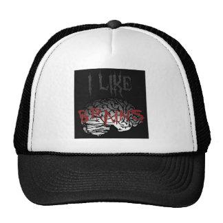 Zombie: I Like Brains Trucker Hat