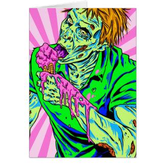 Zombie Ice Cream Cards