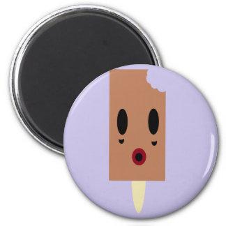 Zombie Ice cream 2 Inch Round Magnet