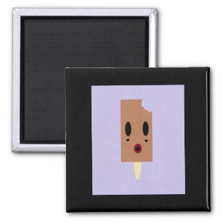 Zombie Ice cream 2 Inch Square Magnet