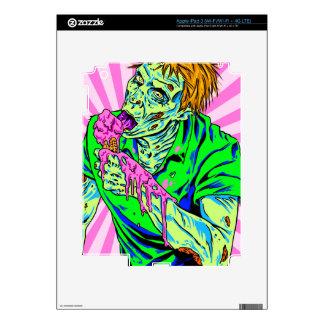 Zombie Ice Cream iPad 3 Skin