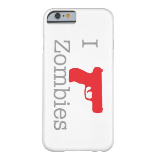 Zombie ID'd Barely There iPhone 6 Case