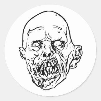 Zombie - Igor Classic Round Sticker