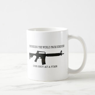 Zombie immunizations coffee mug