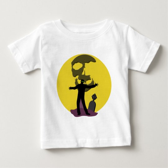Zombie in a Graveyard Products Baby T-Shirt
