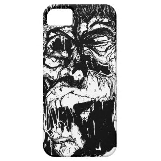 Zombie in Black and White - iPhone 5 Case