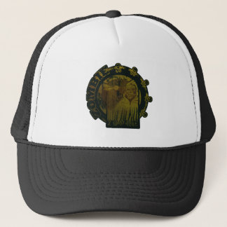Zombie in Cloak - Black And Yellow Trucker Hat