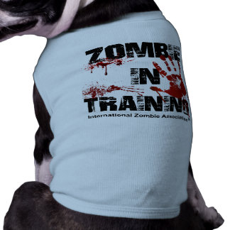 Zombie in Training Pet Clothing