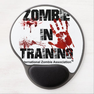 Zombie in Training Gel Mouse Pad