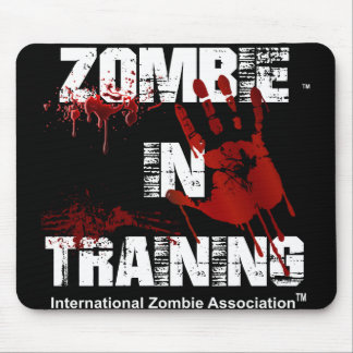 Zombie in Training Mouse Pad