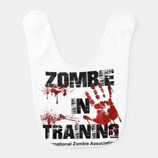 Zombie in Training Baby Bibs