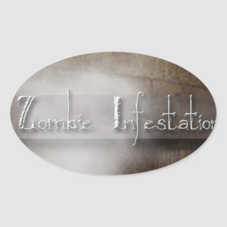 Zombie Infestation Gifts Stickers