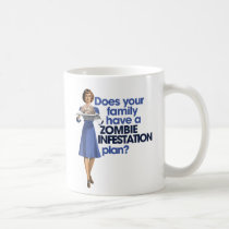 Zombie Infestation Plan Coffee Mug