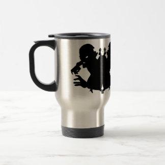 Zombie Ink Blot #2 Rorschach horror art travel mug