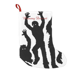Zombie Invasion Small Christmas Stocking