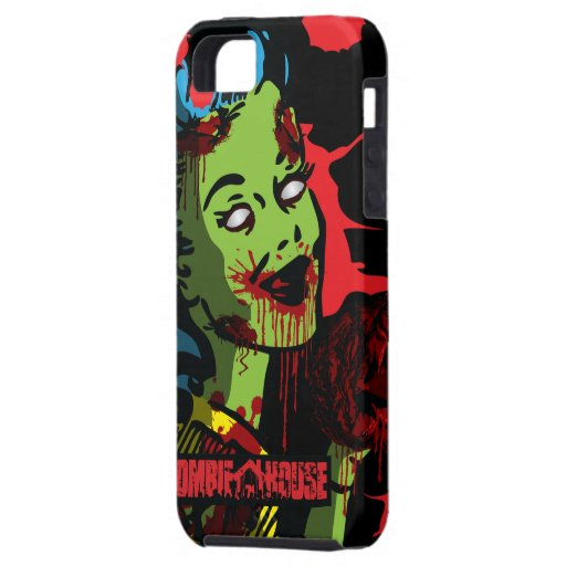 Zombie iPhone 5 Case Zombie Pin-Up Girl