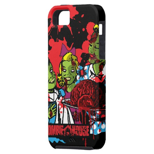 Zombie iPhone 5 Case Zombies Eat Brains