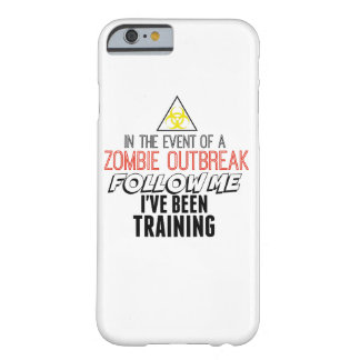 Zombie iPhone 6 phonecase Barely There iPhone 6 Case