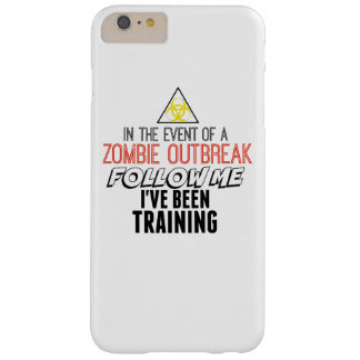 Zombie iPhone 6 Plus phonecase Barely There iPhone 6 Plus Case