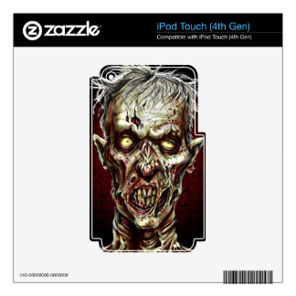 Zombie!! iPod Touch 4G Skin