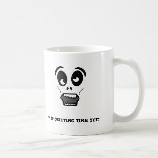 zombie, Is It Quitting Time Yet? Coffee Mug