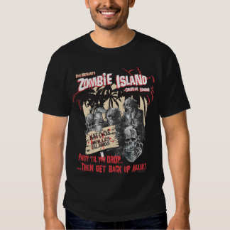 Zombie Island Cocktail Lounge T-shirt