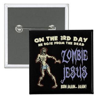 Zombie Jesus Button