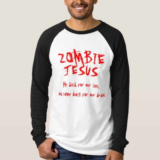 Zombie Jesus Long Sleeved Shirt
