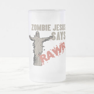 Zombie Jesus Says RAWR Mug