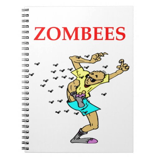 zombie joke notebooks